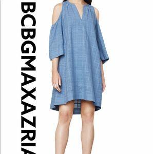 BCBG Regan Cold Shoulder Dress